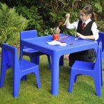میز صندلی پلاستیکی کودک زیبا