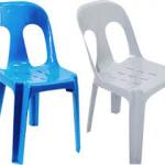 صندلی های پلاستیکی بدون دسته
