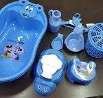 ست بهداشتی پلاستیکی سیسمونی کودک