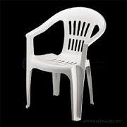 صندلی پلاستیکی دسته دار شیک