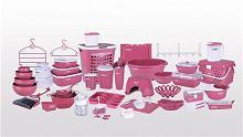 سرویس های پلاستیکی رنگی آشپزخانه