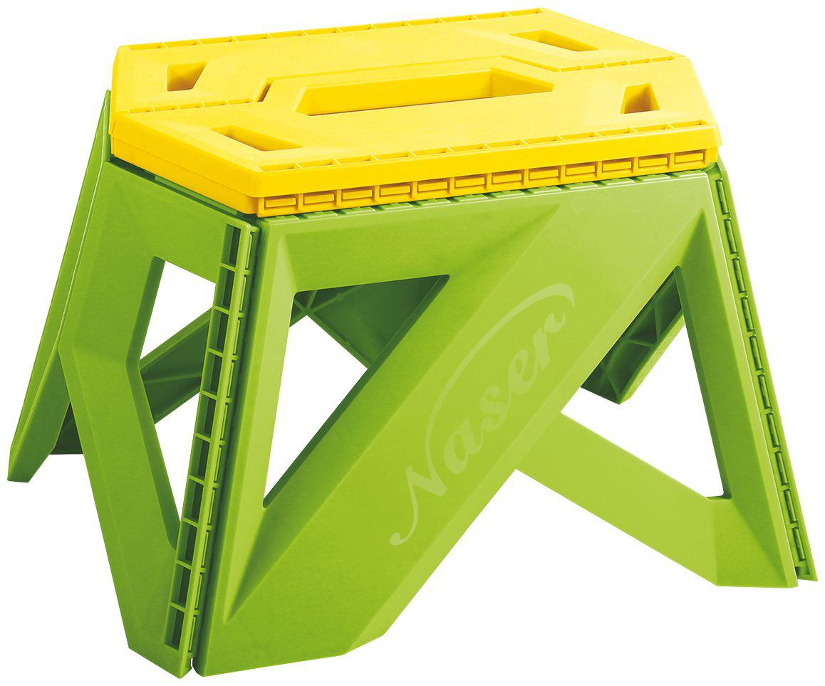 چهارپایه پلاستیکی تاشو