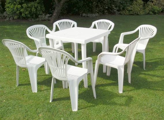فروش میز صندلی پلاستیکی