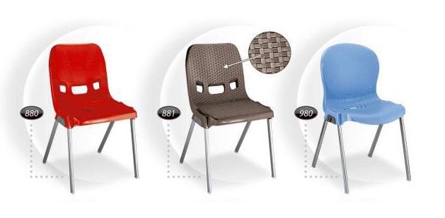بورس صندلی پلاستیکی
