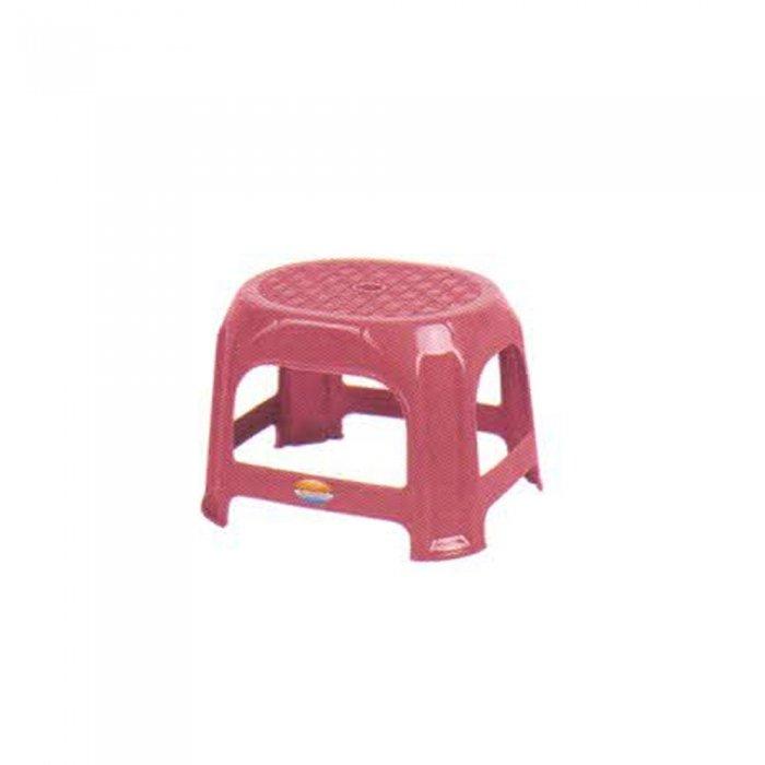 چهارپایه پلاستیکی کوتاه