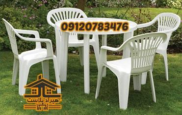 بورس میز و صندلی پلاستیکی