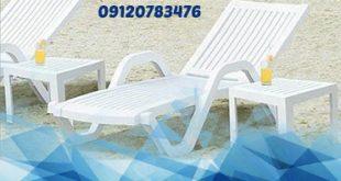 صندلی پلاستیکی استخری