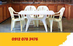 میز و صندلی پلاستیکی ارزان