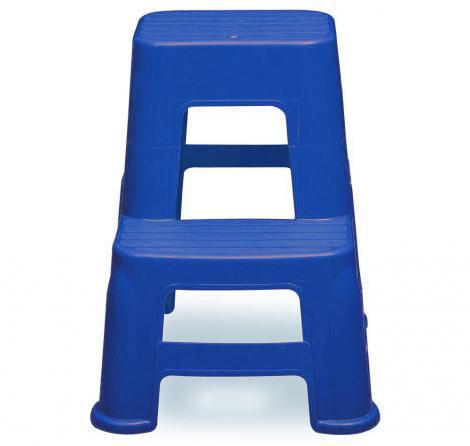 چهار پایه پلاستیکی دو پله